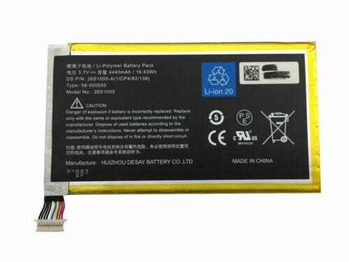 Amazon Kindle Fire HDX 7.0 KC5 26S1005 26S1005-S,58-000055 1ICP4/82/138 kompatybilny bateria