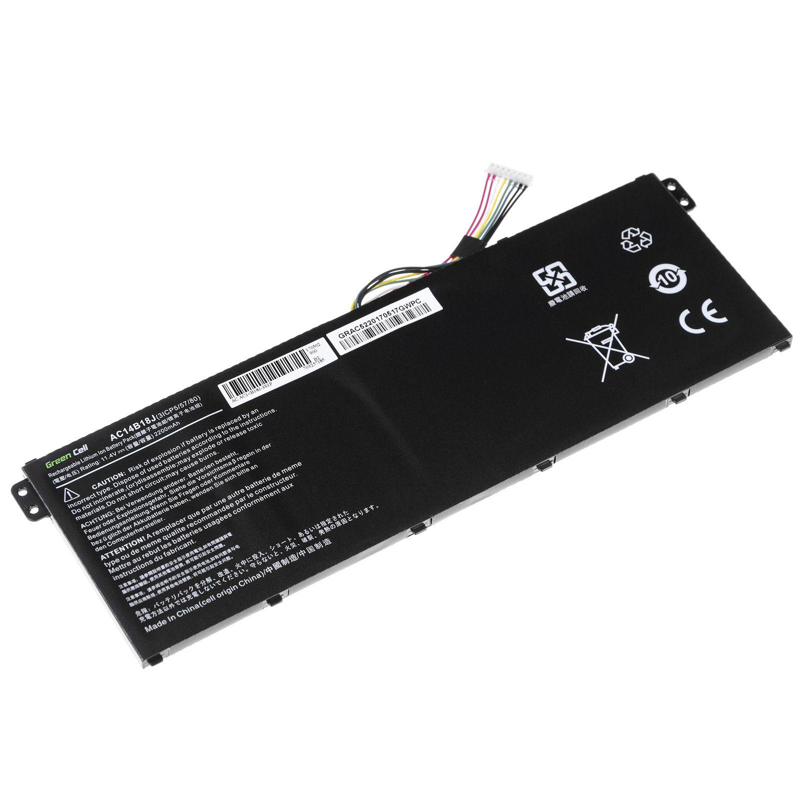 Acer Aspire E11 ES1-111 ES1-111M 2200mAh kompatybilny bateria