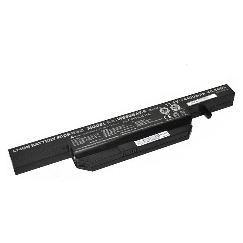 Clevo W650BAT-6 6-87-W650-4E HASEE K710C-I7 K590C-I3 G150MG K750D P5 kompatybilny bateria